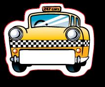 Taxi Name Board